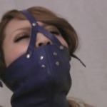 猿轡と全頭マスクで呼吸制御しつつ全身を緊縛するフェチ動画瀬奈えみる